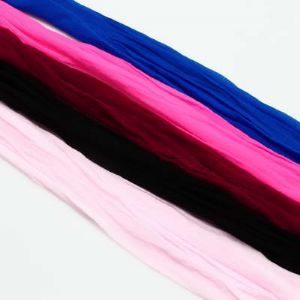 Single colour Specially dyed nylon, Nylon, Light pink, black, Stretched size 1.5m x 15cm, 5 pieces, [SWW0311]